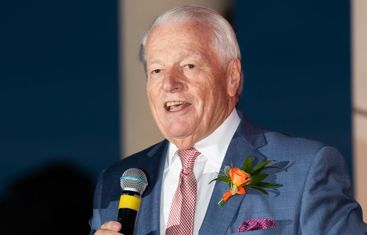 U.S. Travel President & CEO Roger Dow photographed at 2019's Chairman's Circle gala. (Andrena Photography)