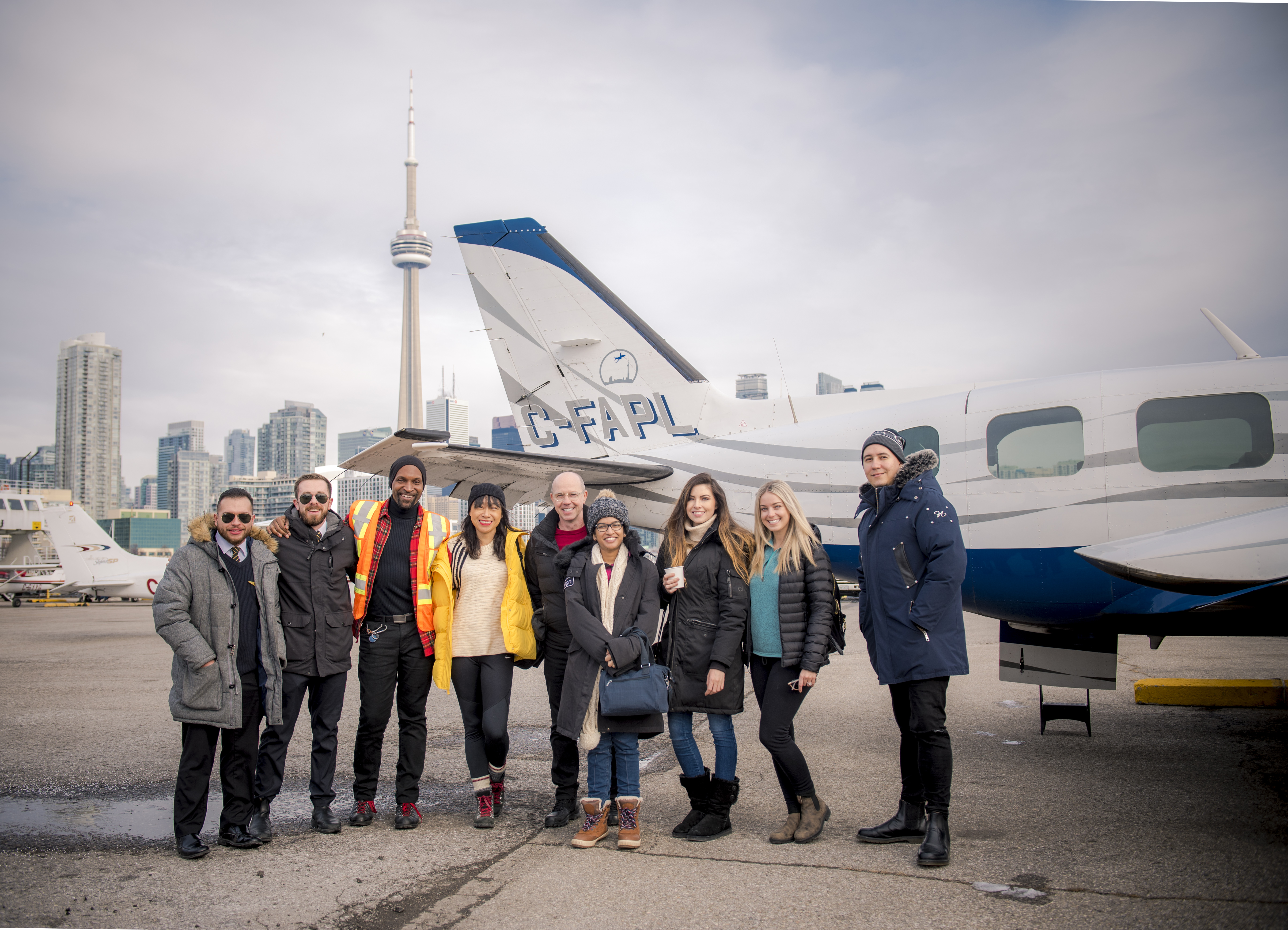 FlyGTA takes you from Billy Bishop Toronto City Airport to Muskoka Airport in just 30 minutes⁠—amazing skyline views included.