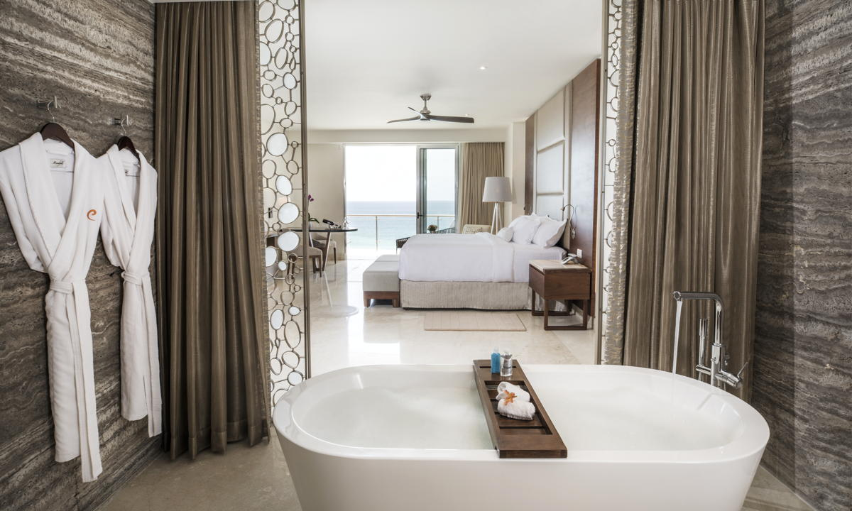 HONEYMOON HAVEN. A look inside the Governor Suite at Le Blanc Cancun. Photo: Palace Resorts