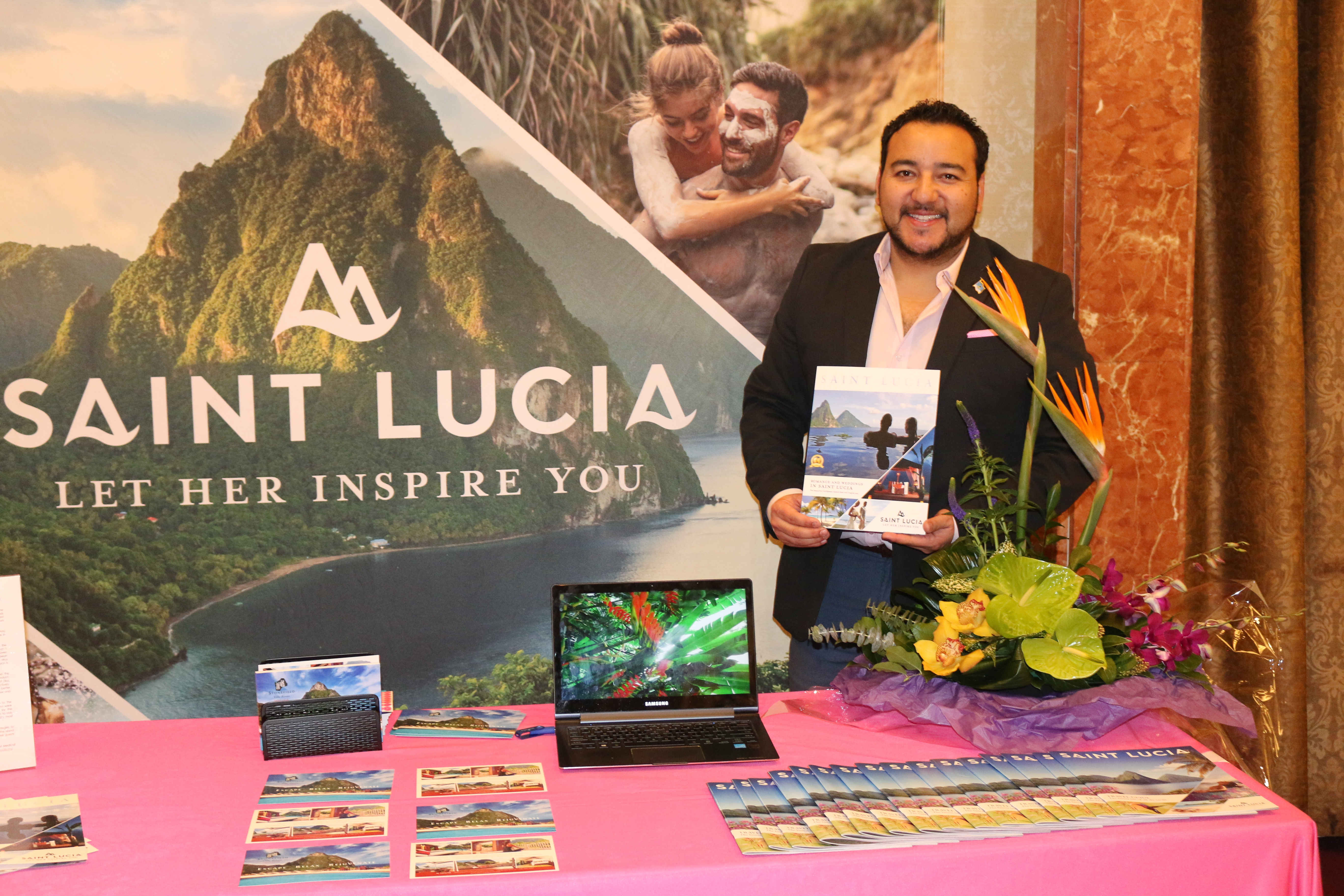 Rod Hanna, national trade sales manager for the Saint Lucia Tourism Authority, Canada