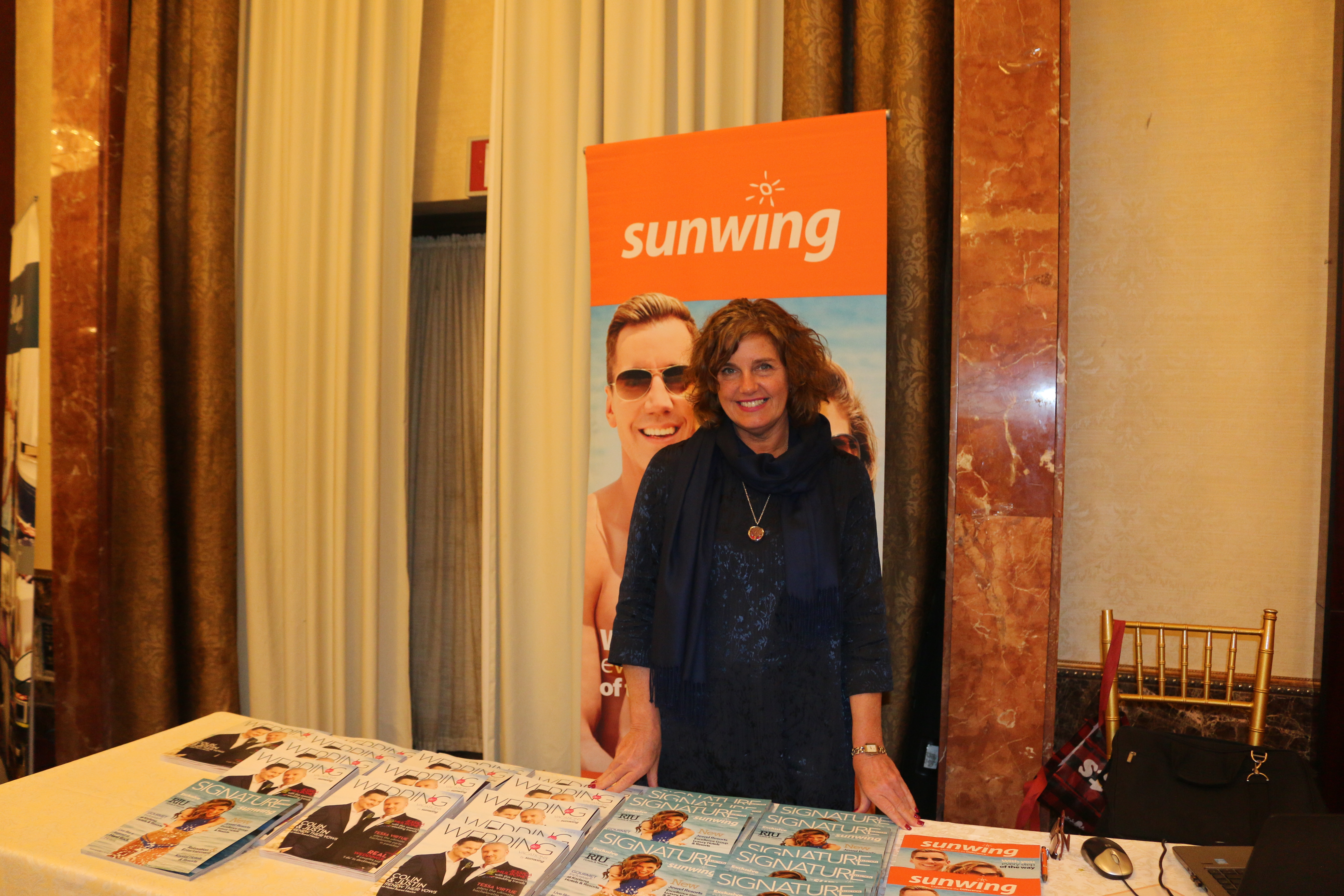 Lorraine Brisbois, corporate manager, preferred partners, Sunwing