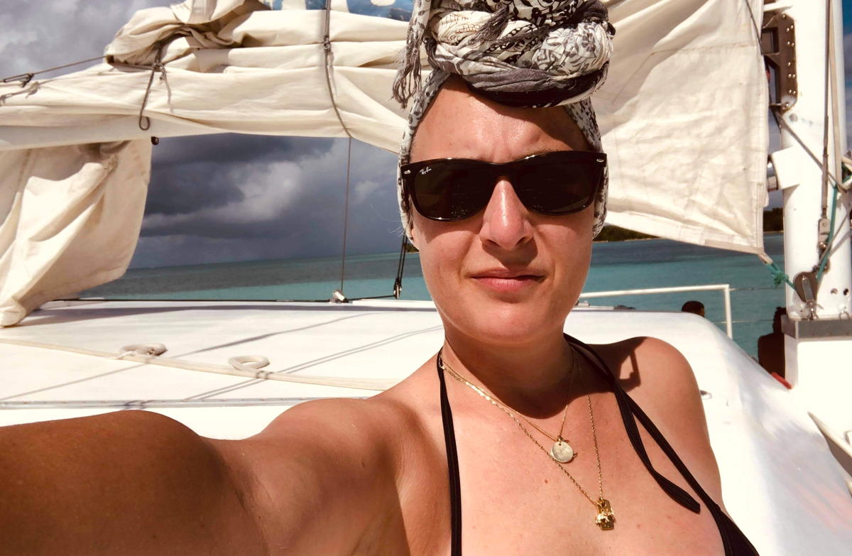 Amélie Provencher of Montreal, QC, turned her one-week vacation into three weeks at Club Med Punta Cana. (Supplied)