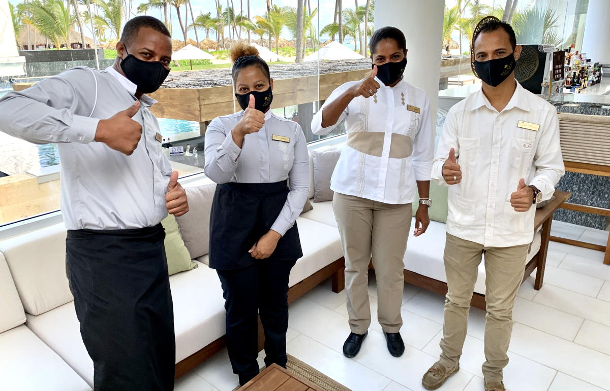 The staff at Secrets Royal Beach Punta Cana deserve praise. (Pax Global Media)