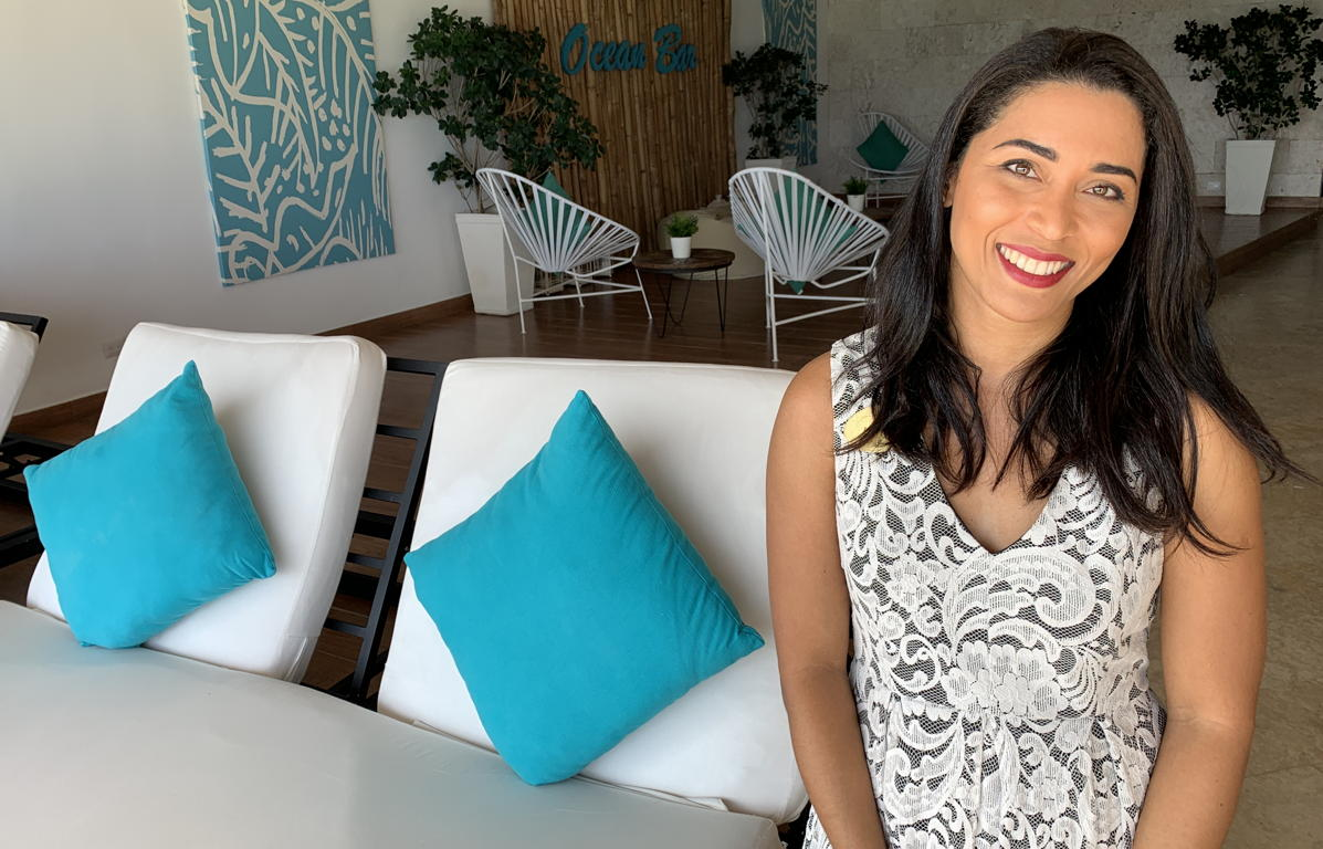 Angie Diaz, director of sales at Sanctuary Cap Cana. (Pax Global Media)