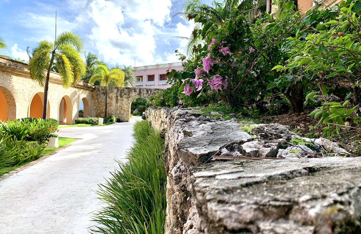 Touring the grounds at Sanctuary Cap Cana. (Pax Global Media)