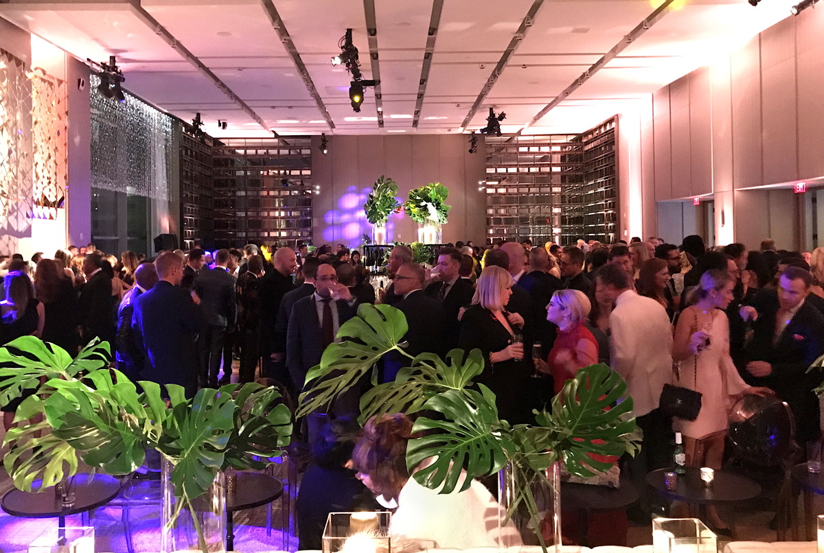 The Bloor Street Entertains after party at the Four Seasons Hotel Toronto.