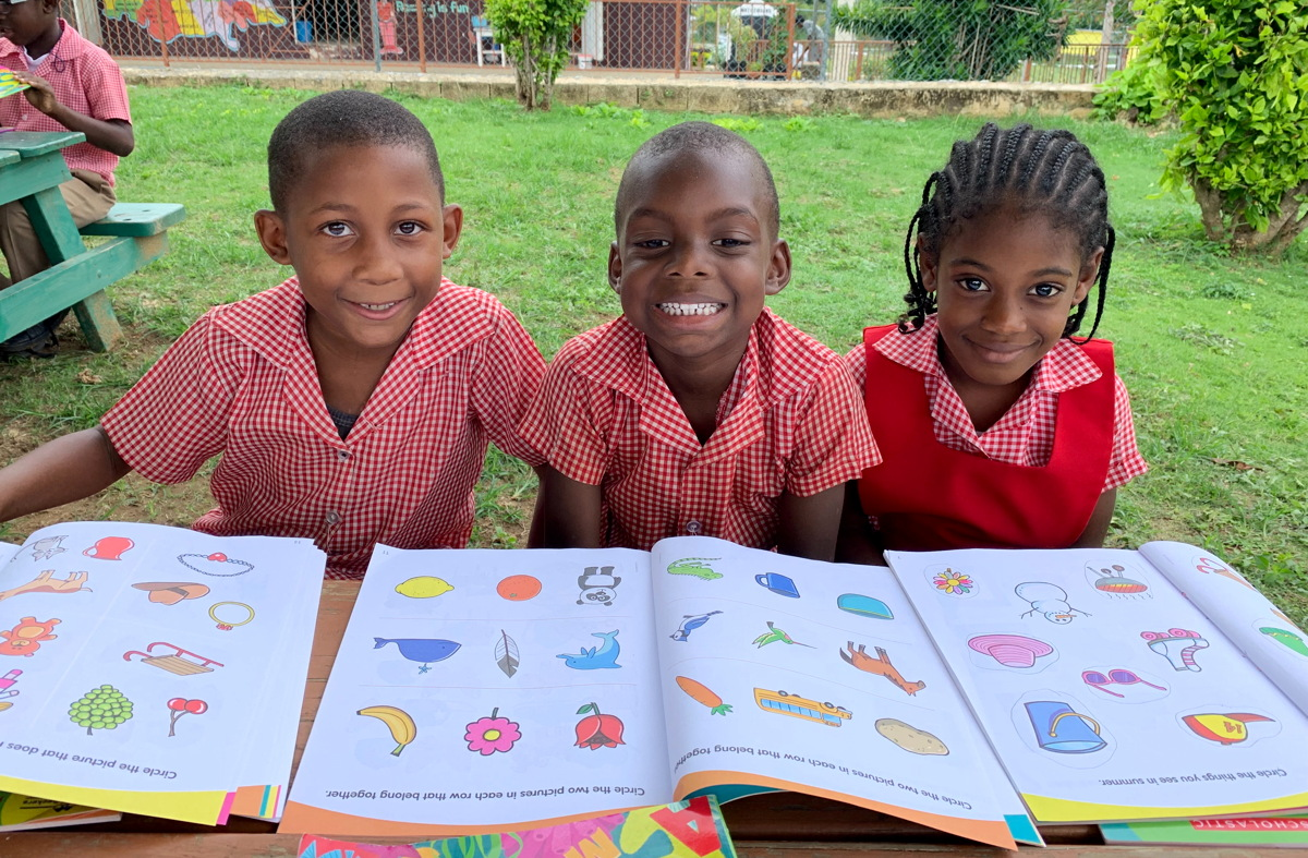 GIVE BACK. Sandals' Reading Road Trip invites participants to visit a local school and interact with children through reading and educational activities.