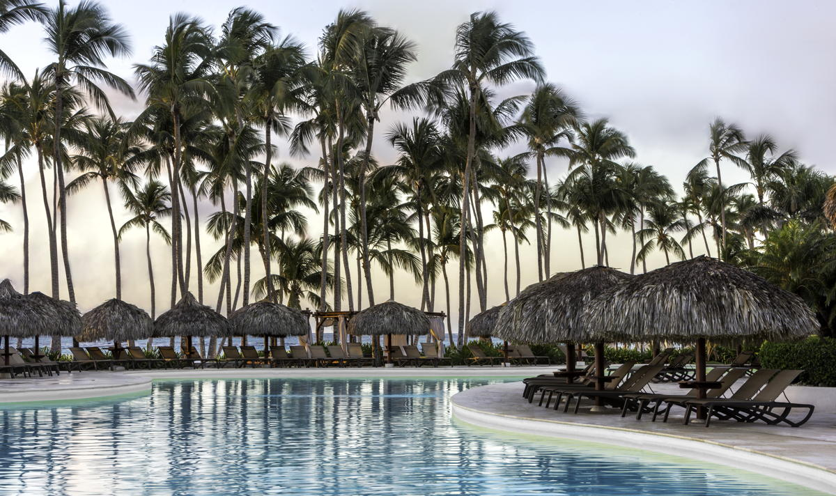 Poolside at Club Med Punta Cana. (Club Med)