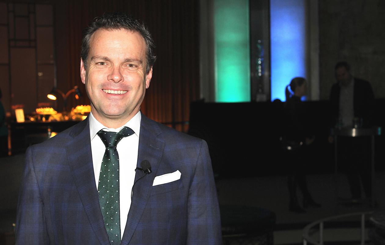Richard Bartrem, vice president of marketing communications at WestJet