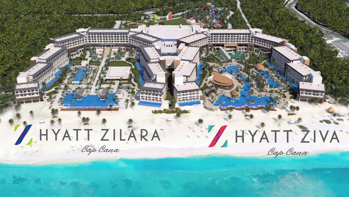 "BIG PROJECTS. Playa's Hyatt Ziva and Hyatt Zilara compound in Cap Cana is ""perhaps the most ambitious project we've endeavoured,"" said Rose Cosentino,"