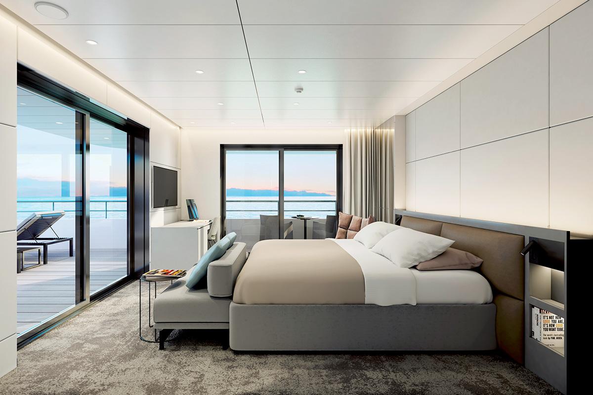 Suite (Ocean View) Preferred Club Area