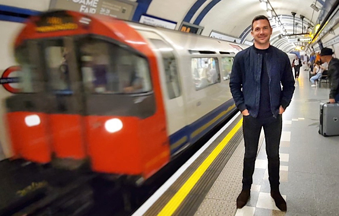 """You cannot be successful in this business if you don't, first and foremost, love travel and all the good that it brings to this world,"" says Tim Morgan, seen here in London, UK. (Supplied photo)"