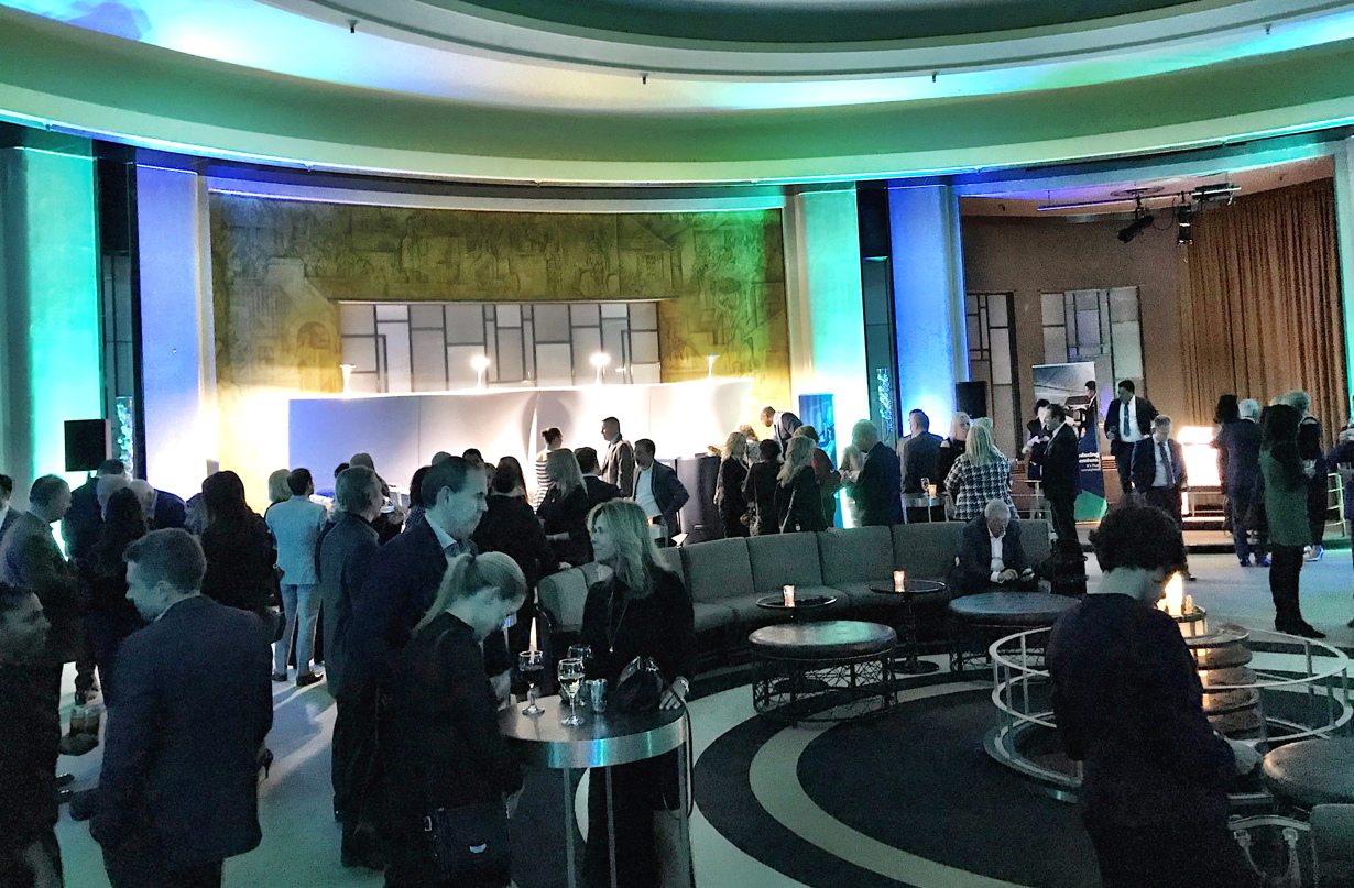 Close to 300 of WestJet's top-selling travel agents, preferred partners and staff gathered at The Carlu in Toronto last night.