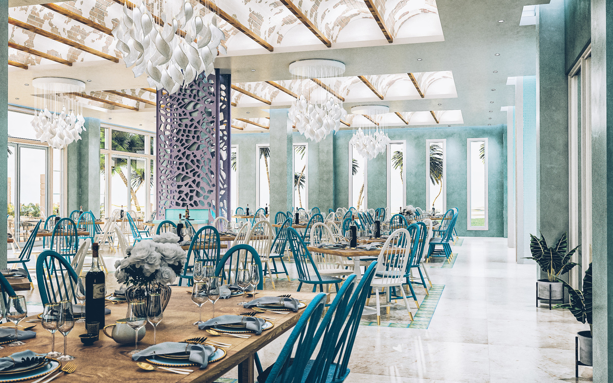 The Faro Buffet Restaurant at The Coral Level at Iberostar Selection Bavaro