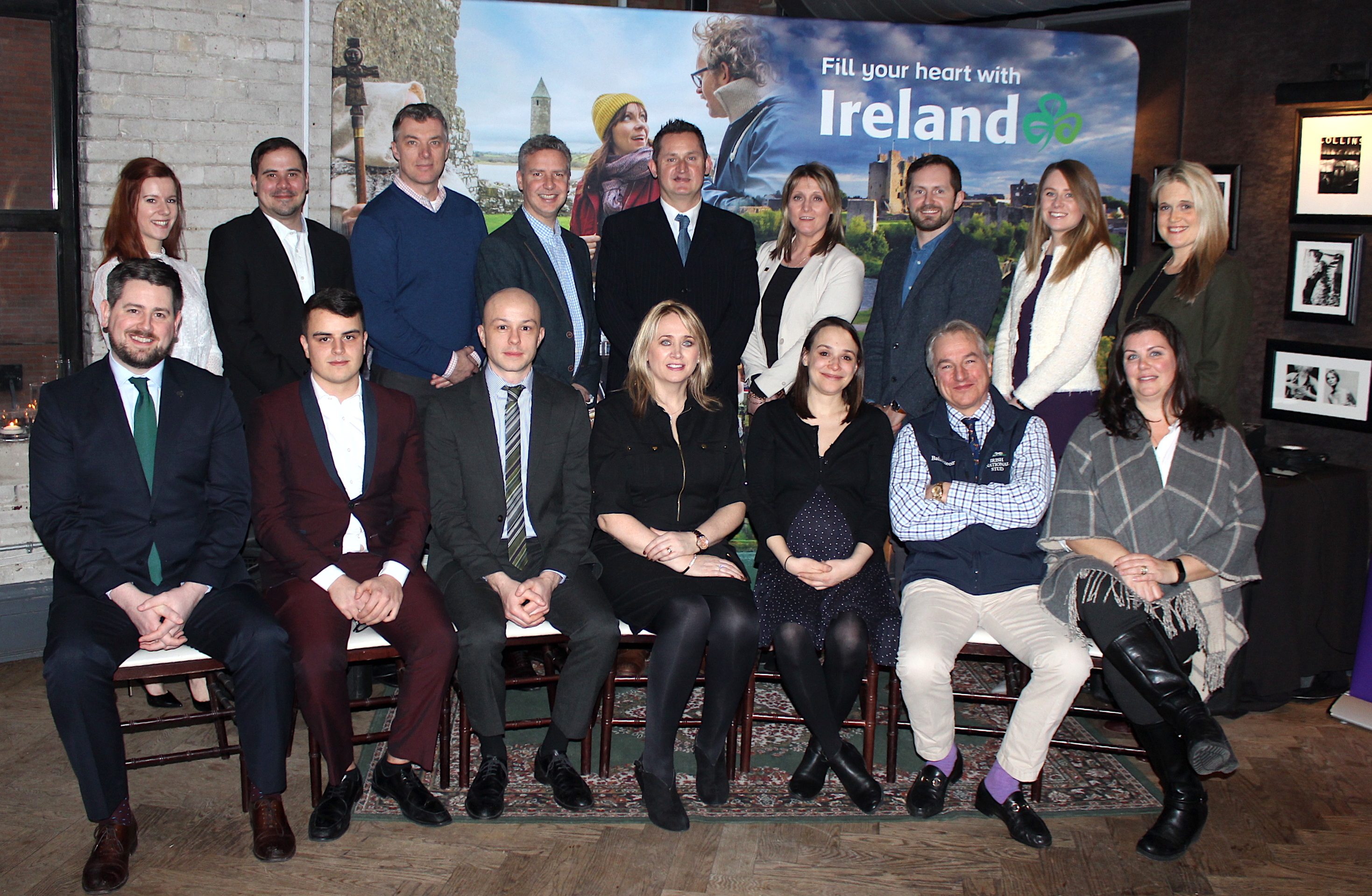 BEST OF IRELAND. Irish and Canadian tourism delegates met with travel trade in Toronto last night.
