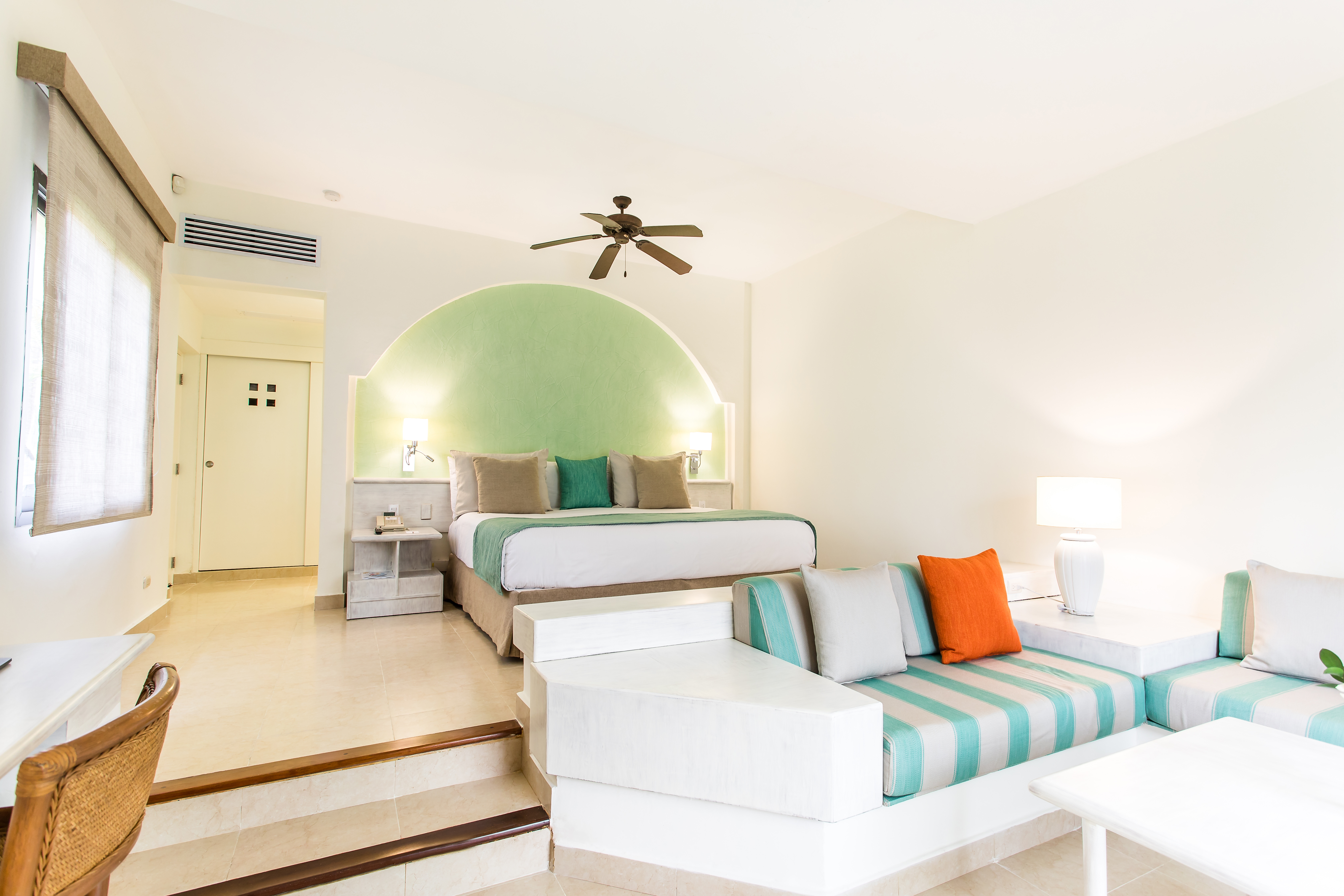 Iberostar Selection Bávaro offers 595 newly-renovated rooms