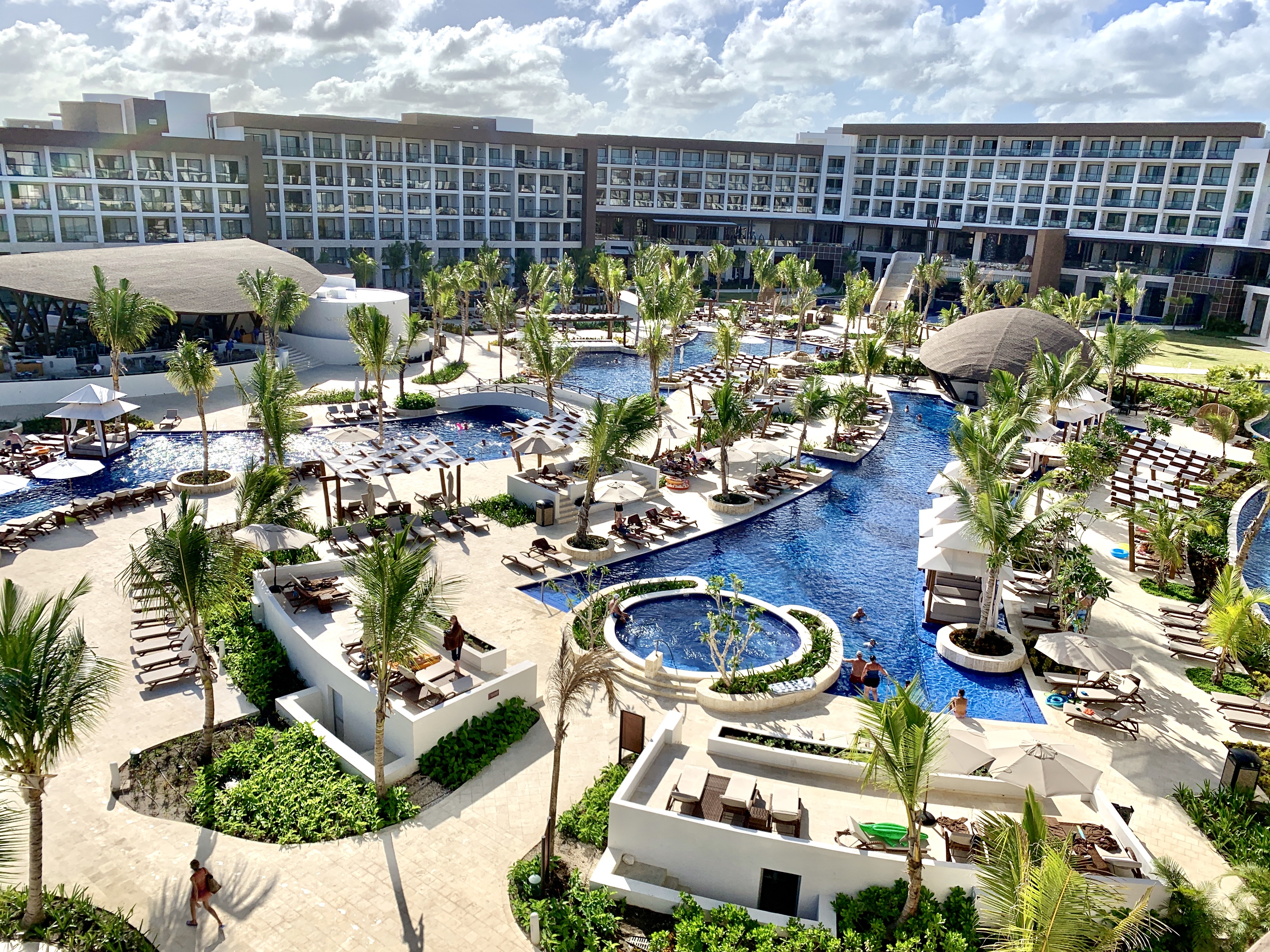 "PARADISE. The new Hyatt Ziva/Zilara Cap Cana was built out the realization ""of what an all-inclusive resort should be,"" says Kevin Froemming."