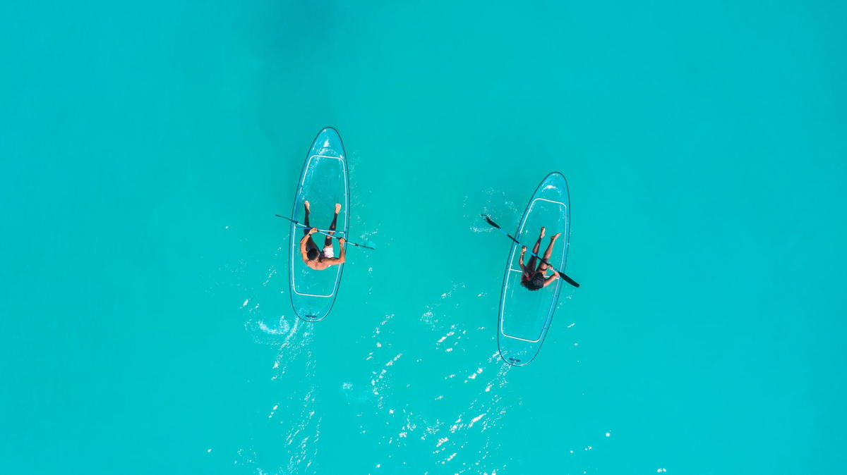 Kayaking in Grenada. (Supplied)
