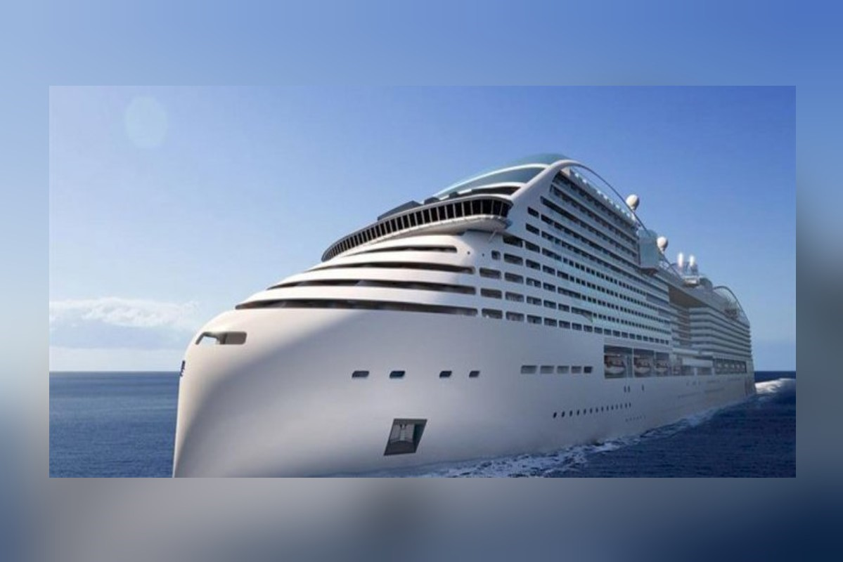 The MSC Europa, a LNG-fuelled vessel that will enter service in 2022.