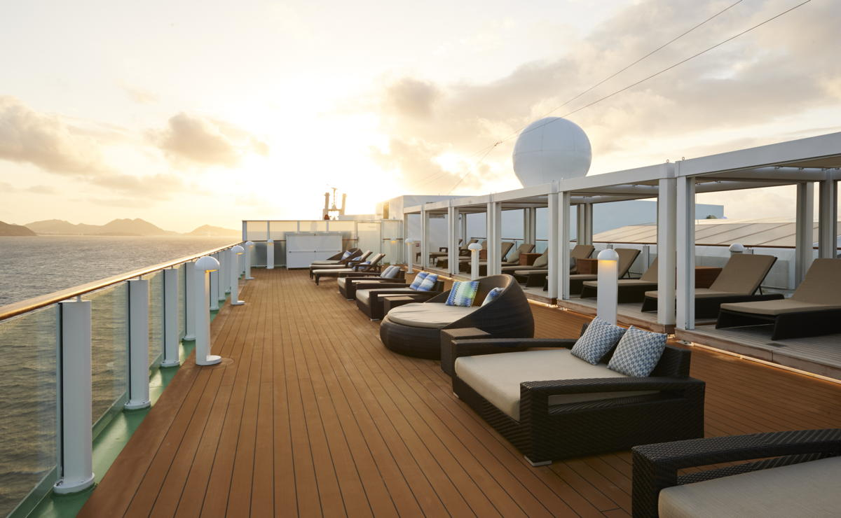 The Haven Sundeck on board the Norwegian Gem. (NCL)