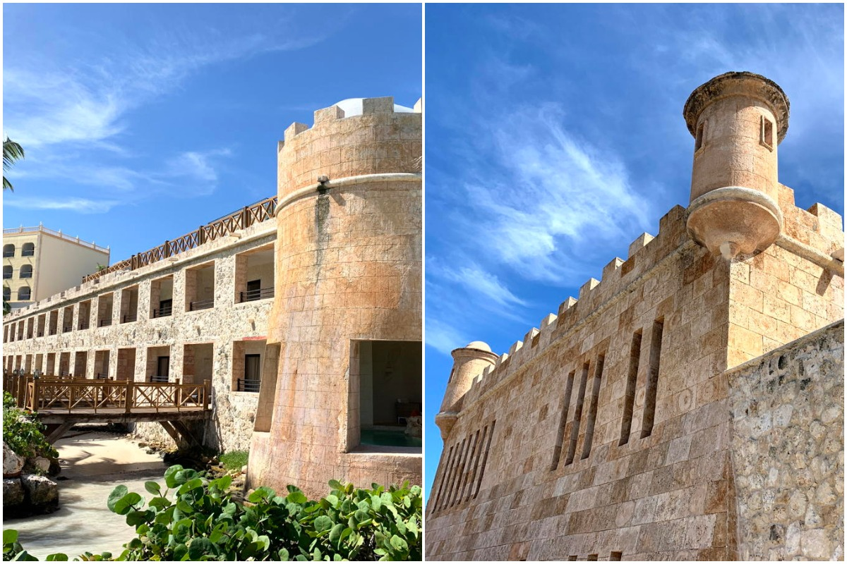 Exploring the castle grounds at Sanctuary Cap Cana. (Pax Global Media)