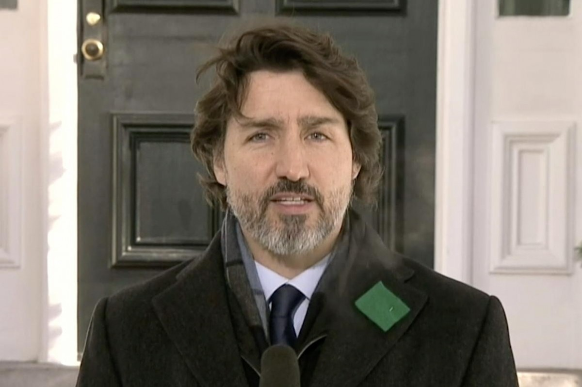 Trudeau, for weeks, had been urging Canadians to cancel all travel winter vacation plans. (File photo)
