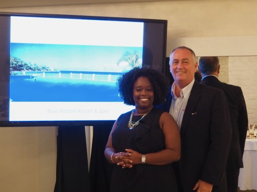 Agents get closer to Antigua with Blue Waters Resort