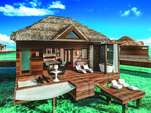 Sandals Grande St Lucian unveils over-the-water bungalows