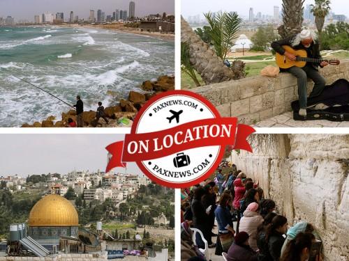 PAX On Location: Israel, from Tel Aviv to Jerusalem