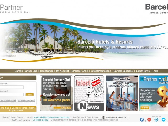 Barcelo Partner Club launches site for Canadian agents