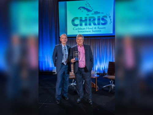 Sandals founder Stewart awarded with CHRIS Lifetime Achievement Award