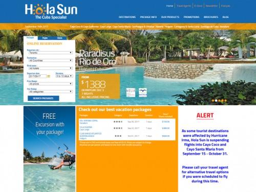 Hola Sun provides Cuba hotel update