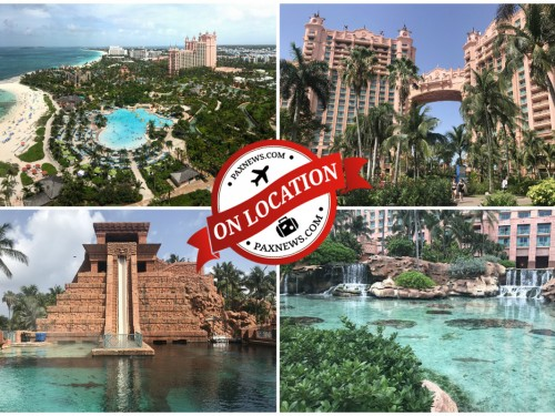 Discover the aquatic wonderland of Atlantis Paradise Island