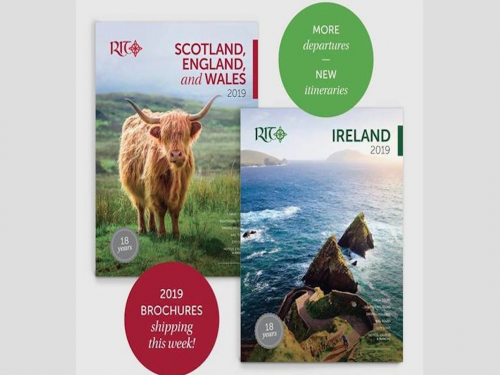 Royal Irish Tours adds new adventure tours for 2019 Ireland & Scotland brochures