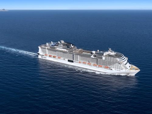 MSC Grandiosa's maiden voyage is now on sale