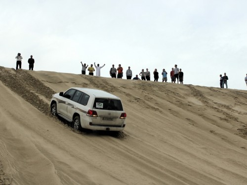 PAX Pic of the Day: Dune Bashing in Qatar