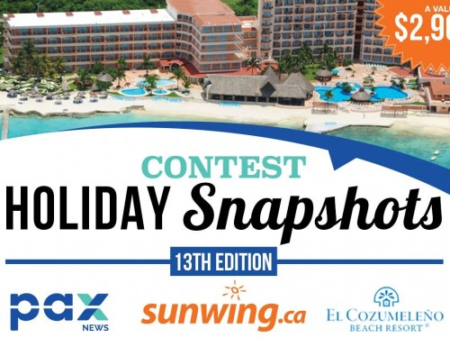 Submit your winning photos to the Holiday Snapshots contest!