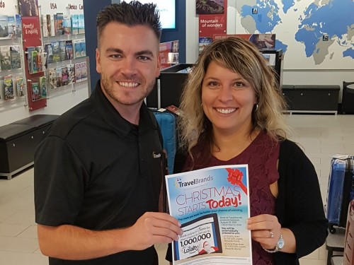 TravelBrands names first winner in Loyalty Rewards contest