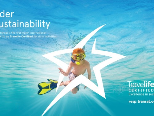Transat is now Travelife Certified