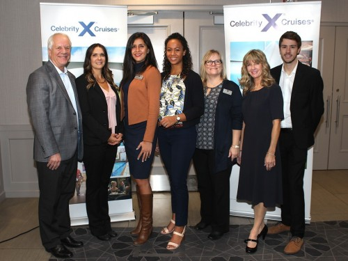 Celebrity Cruises Edge-ucates Ontario travel agents