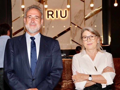 RIU Palace Oasis opening celebration attended by more than 100 guests