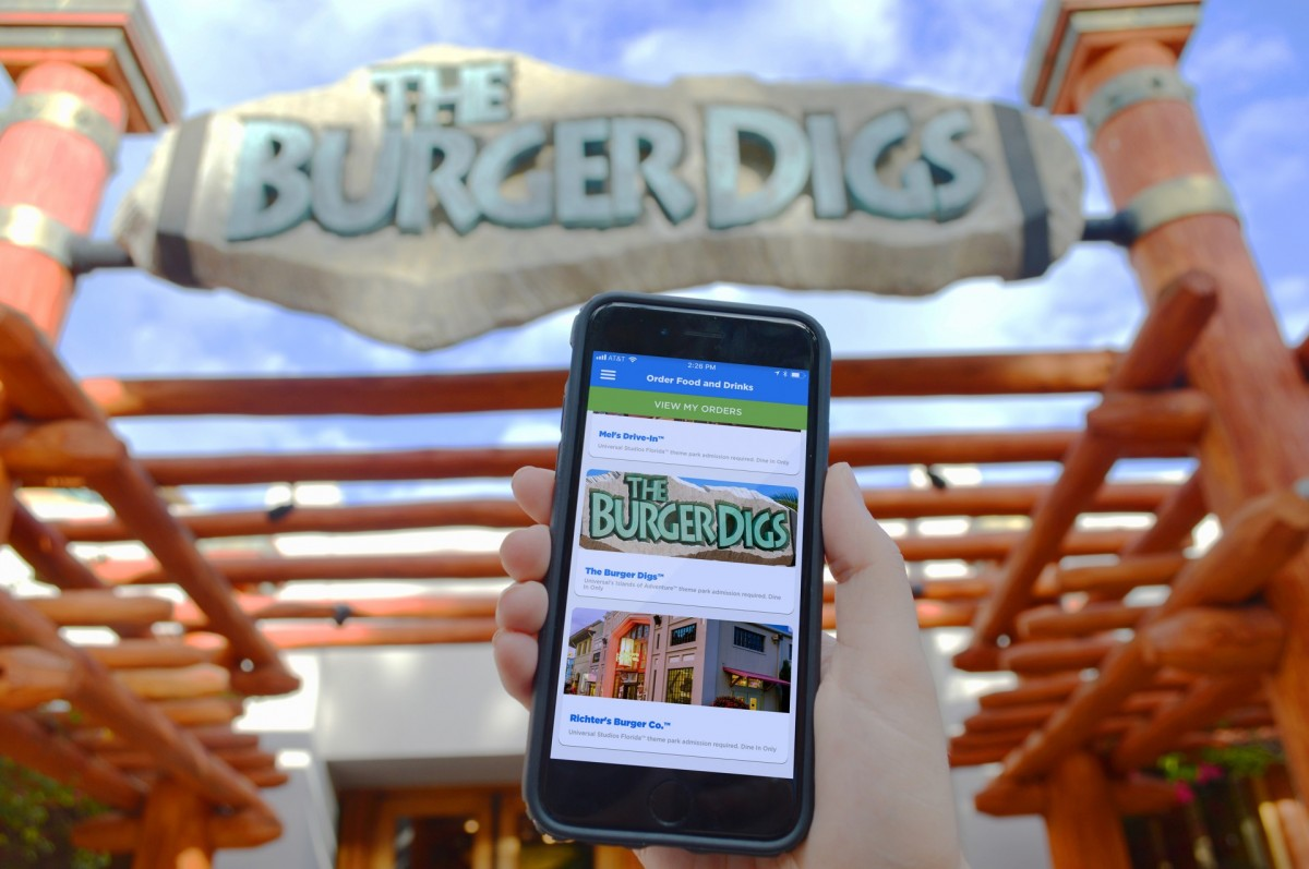 Universal Orlando launches new mobile food ordering app