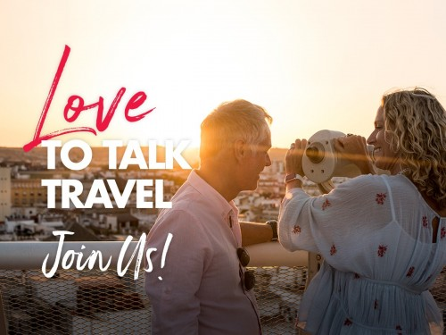Trafalgar kicks off 'Love to Talk Travel' events this month