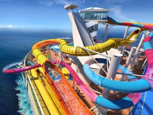 RCI's Navigator of the Seas is getting the longest water slide at sea