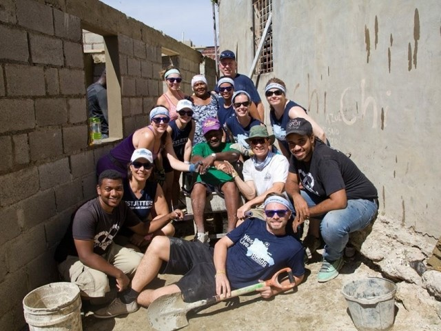 Volunteers in WestJet's annual charity trip build 5 new homes in the DR