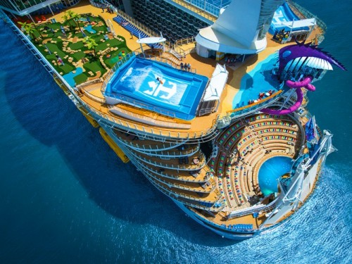 RCI's Symphony of the Seas arrives in Florida