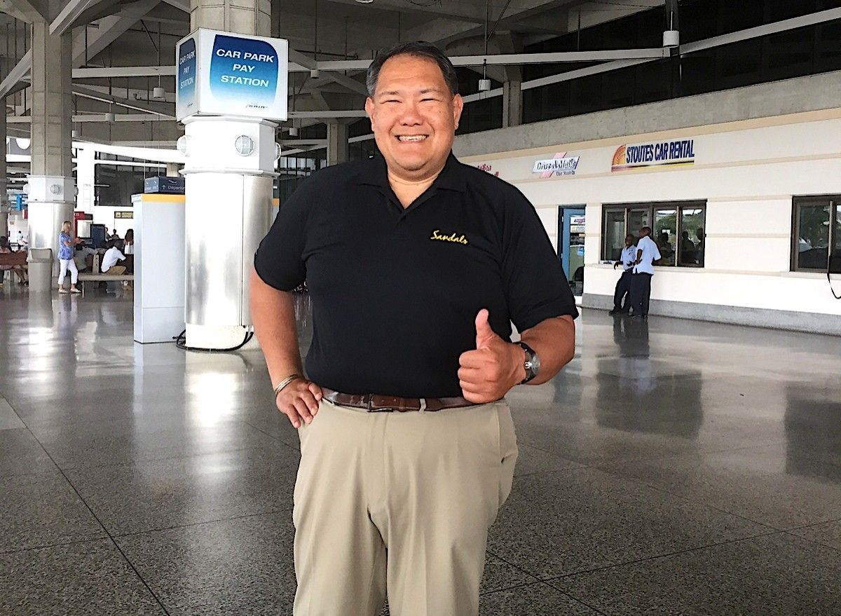 PAX checks in with Sandals' Winston Chang