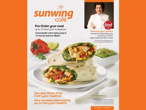 Sunwing & Chef Lynn cook up a foodie contest