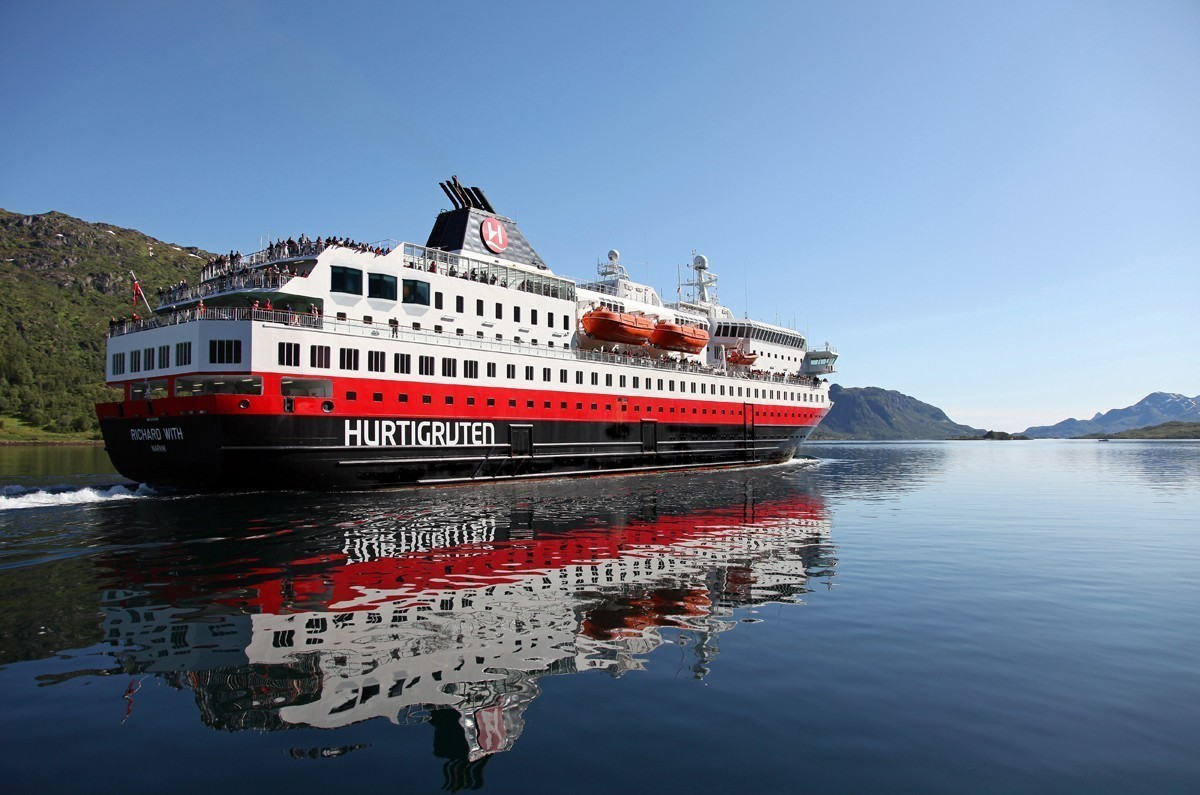 Hurtigruten is using dead fish to fuel its ships
