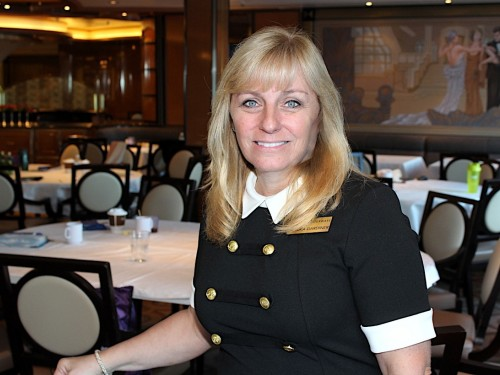 PAX checks in with AmaWaterways' Sandra Gardiner